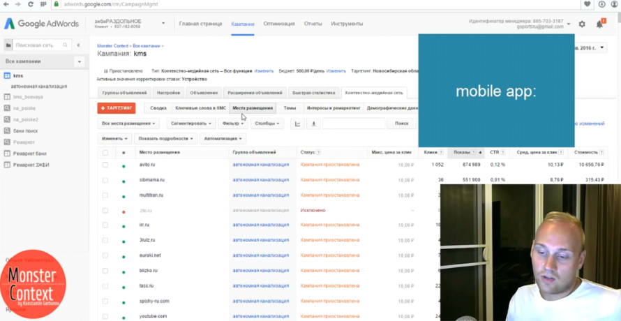 Как провести аудит и анализ Google Adwords